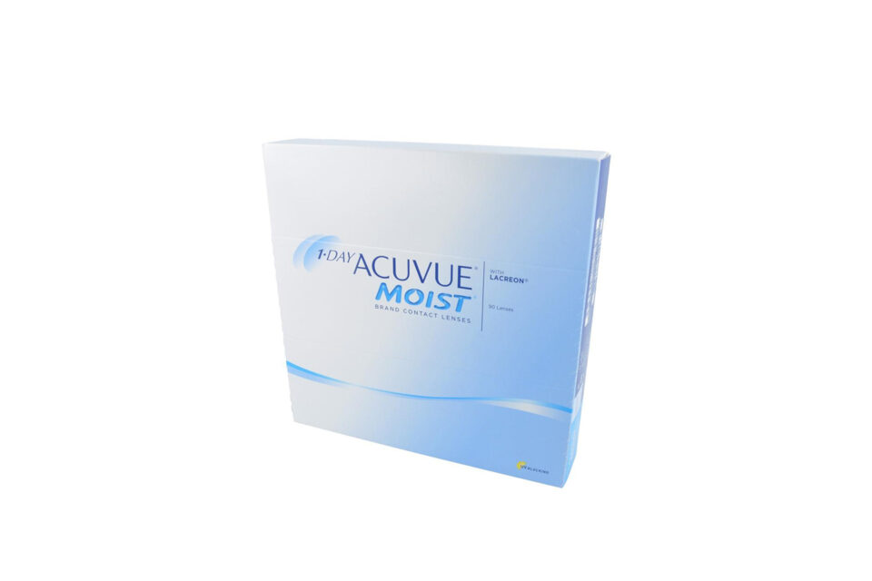 1-DAY ACUVUE MOIST 90PCS