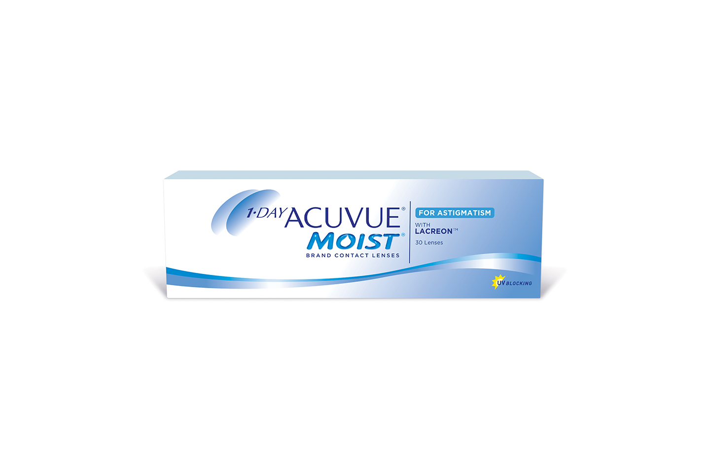 1-DAY ACUVUE MOIST for ASTIGMATISM 30PCS