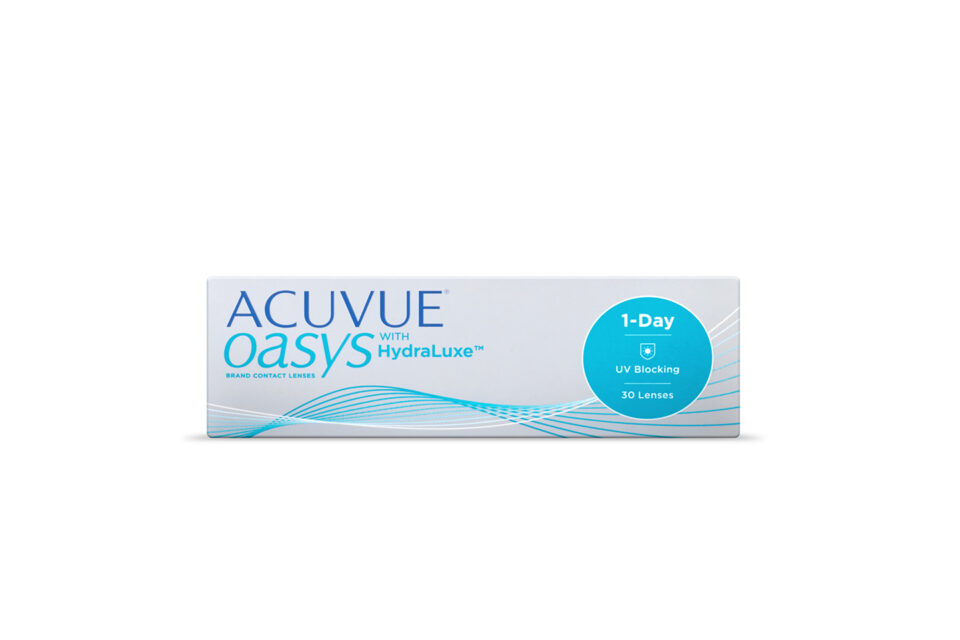 ACUVUE OASYS 1-Day με HydraLuxe 30PCS