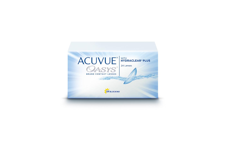 ACUVUE OASYS® με Τεχνολογία HYDRACLEAR PLUS 24PCS